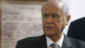 MHP lideri Devlet Bahçeliden referandum çıkışı