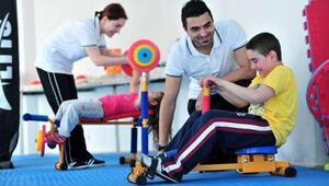 Otizmli çocuklara spor eğitimi