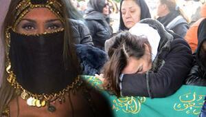 Mezdeke dansçısı Aynur Kanbur son yolculuğuna uğurlandı
