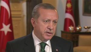 Cumhurbaşkanı Erdoğan CNNe konuştu