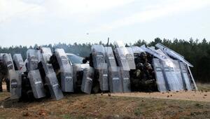 Kahramanmaraş'ta konteyner tepkisi sürüyor
