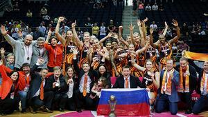 FIBA Kadınlar Avrupa Liginde 58. şampiyon UMMC Ekaterinburg