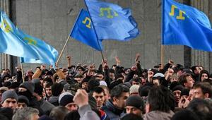 Kırım Tatar Milli Meclisinin yasaklanmasına Türkiye ve ABden tepki