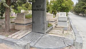 Mezarı zarar gördü