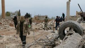 ABD Marede Suriyeli muhaliflere havadan silah yardımı yaptı