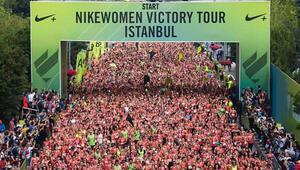 Binlerce kadın NikeWomen victory tour ile koştu