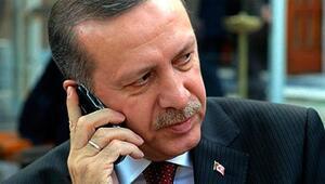 Erdoğandan telefon diplomasisi