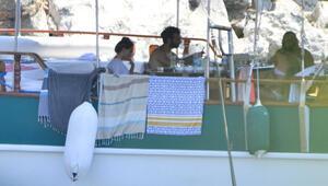 İlker Kaleli ile Burçin Terzioğlu Marmariste tatilde (Foto-Galeri)