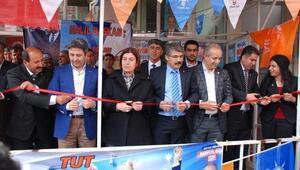 AK Parti Tut İlçesi Seçim Bürosu'nun Açılışı Yapıldı