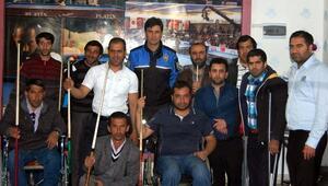 Bitlis'te Engelliler İçin Bilardo Turnuvası Düzenlendi