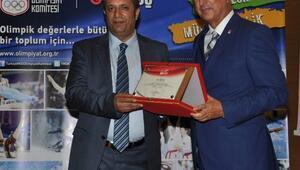 """Dilovası'nda """" Spor Kültürü Ve Olimpik Eğitime"""" Programı Açılışı Yapıldı"""