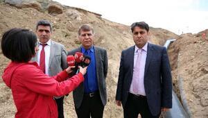 Sivas Belediyesi, su kesintisine neden olan hattı değiştirdi