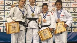 Süleymanpaşalı judocu Avrupa üçüncüsü oldu