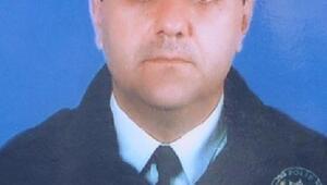 Kalp krizinden ölen polis memuru için hazin tören