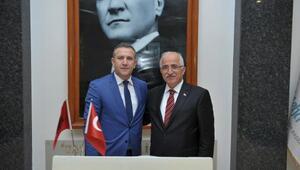 Tiran Valisi Vorpsi, Vali Tuna'yı ziyaret etti