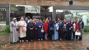 Pursaklarlı kadınlar Karadeniz turunda