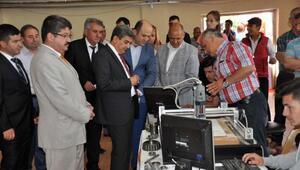 Keşan'da, 'Eğitimden Üretime Meslek Liseleri Sergisi' açıldı