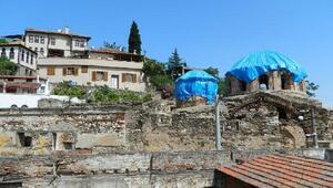 Baş Melekler'de restorasyon hazırlıklarına başlandı
