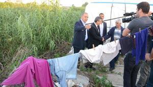 CHPli Gürsel Tekin, tarım işçilerini çadırlarında ziyaret etti