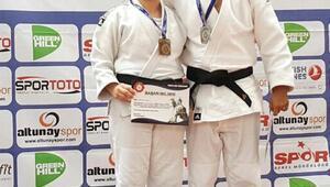 Judocu çift, Türkiyeyi temsil edecek