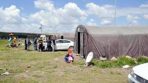 Tarım işçileri için 323 çadır kuruldu