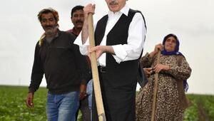 Kılıçdaroğlu, Adanada çiftçiler ve temsilcileriyle buluştu (4)