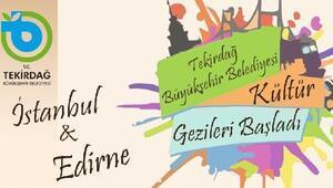 Tekirdağ Büyükşehir'den Kültür Gezileri
