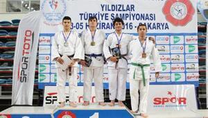 Kahramanmaraşa judoda bronz madalya