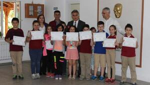 Kırklareli SGK'dan çocuklara anlamlı sertifika