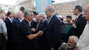 Erdoğan, Gül ve Davutoğlu cenazede biraraya geldi