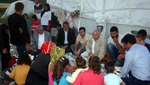 CHP üyelerinden çat kapı iftar