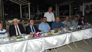 Kilis'te, Kur-an kursunda iftar yemeği