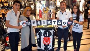 Beşiktaş'ın şampiyonluk kupası Kayseri'de
