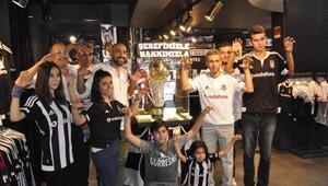Beşiktaşın şampiyonluk kupası Gaziantep Kartal Yuvasında