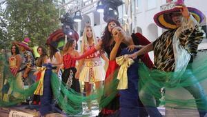 Kemer Altın Nar Kültür ve Sanat Festivali renkli başladı