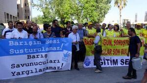HDPli yöneticilerin de bulunduğu 29 kişi izinsiz gösteriden yargılanıyor