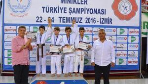 Judo Şampiyonasına muhteşem final
