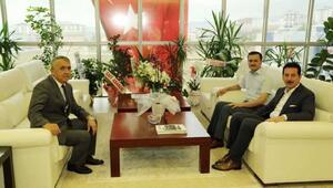 Başkan Tok, Rektör Bilgiçe başarılar diledi