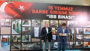 Eski Başbakan Davutoğlundan İBB Başkanı Topbaşa ziyaret