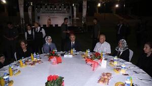 Bakan Ala, şehit aileleri ile mevlitte buluştu