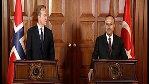 Dışişleri Bakanı Mevlüt Çavuşoğlu, Norveç Dışişleri Bakanı ile görüştü