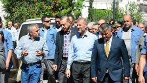 Cumhurbaşkanı Erdoğan, Erdek'te cenaze törenine katılıyor