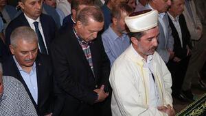 Erdoğan, Ziya İlgenin annesinin cenazesine katıldı