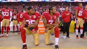 NFL'de ırkçılığa ve ayrımcılığa karşı 'ulusal marş' protestosu dalga dalga yayılıyor