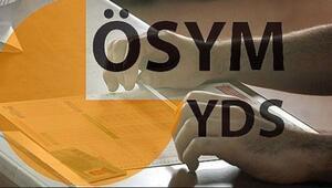 YDS başvuru tarihleri açıklandı.. İşte YDS başvurularında son gün
