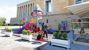 Anıtkabir'e çocuk parkı
