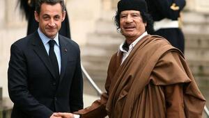 Kaddafi, Sarkozyye mali destek verdi iddiası
