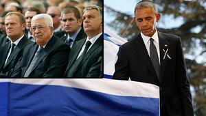 Obama, Peresin cenaze törenine katılan Abbas'a teşekkür etti