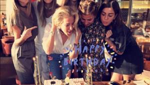 Burcu Esmersoy yeni yaşını kutladı