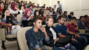 SDÜde öğrencilere eğitim